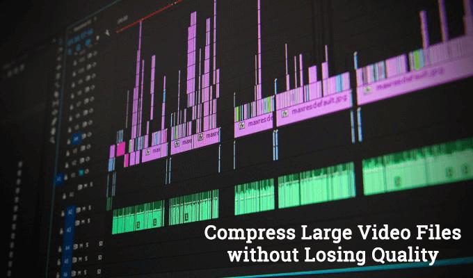 Compress Video Files using Handbrake