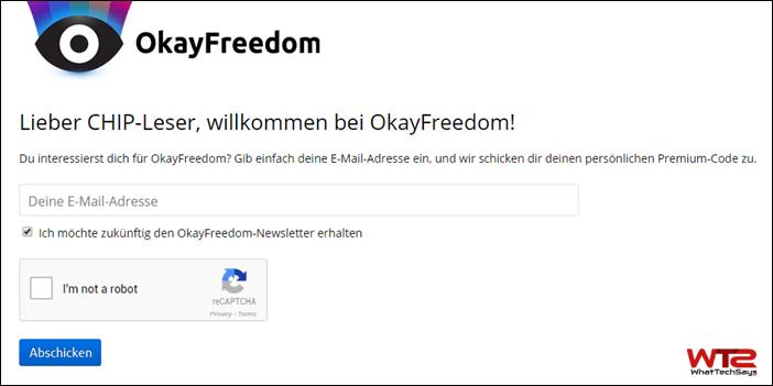 OkayFreedom VPN Premium Code