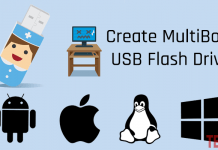 Create MultiBoot USB Flash Drive