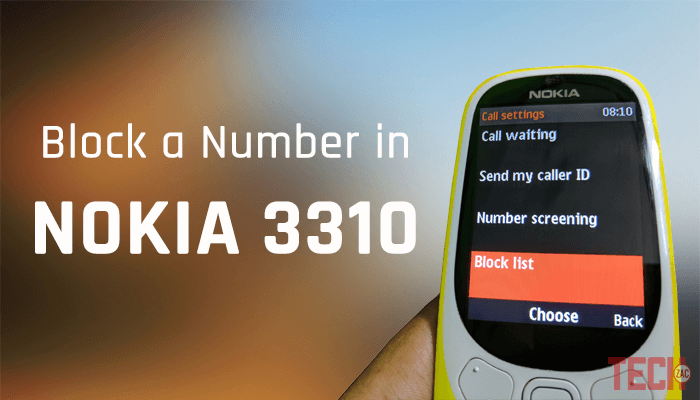 How to Block a Number on Nokia 3310 (2017) Basic Model