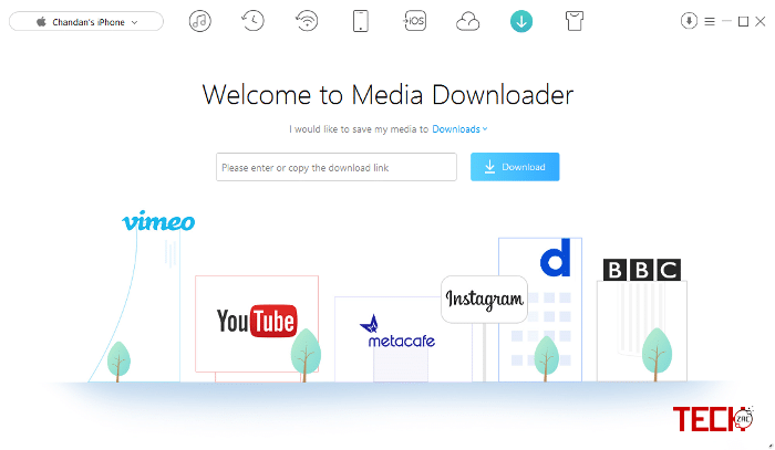 iMobie AnyTrans Media Downloader