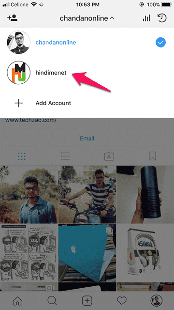 Switch Between Multiple Instagram Accounts